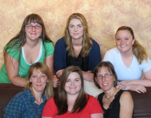 The wonderful ladies of I.M. Spa!