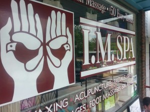 I.M. Spa Store Front