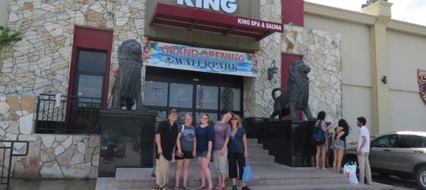 I.M. Spa girls at King Spa
