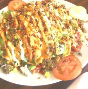 Raw Food Taco Salad