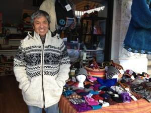 Lama Thinley at the Himalayan Mtn Shop