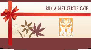 I.M. Spa Gift Card
