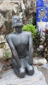 Wat Pho, statues, yoga, stretching