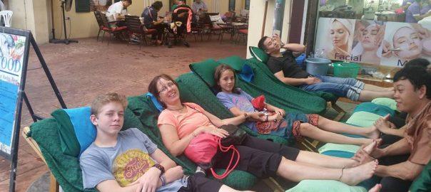 Thai Foot Massage, Thailand