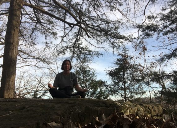 Meditating on the Trail